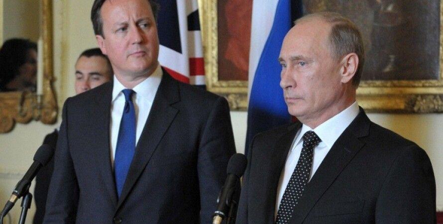 Дэвид Кэмерон и Владимир Путин / Фото: ИТАР-ТАСС/Алексей Никольский