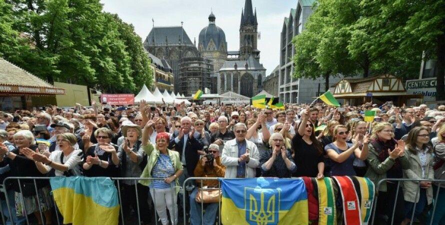 Украинская диаспора в Аахене (Германия) / Фото: УНИАН