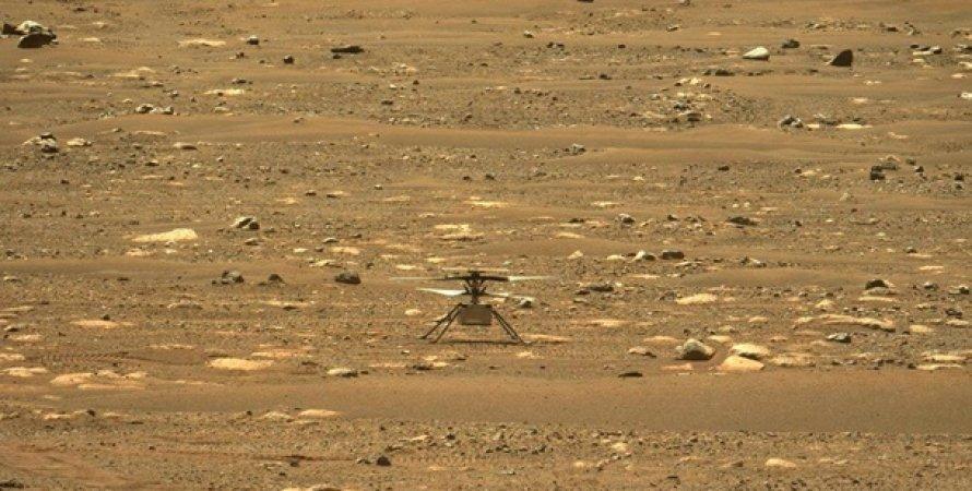 Марс, Знімок, Вертоліт, Perseverance, Ingenuity