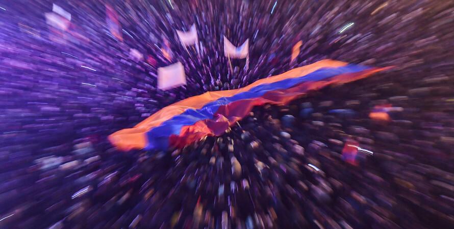 протесты в Армении, Ереван, Пашинян