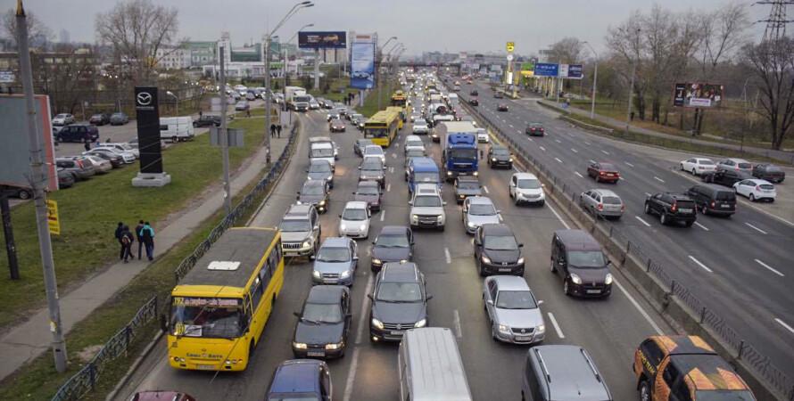 скоростной лимит на улицах Киева, ограничение скорости на 17 улицах