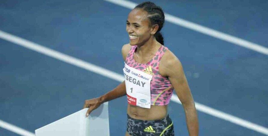 Бег, Мировой рекорд, Эфиопия, Гудаф Цегай, Женщины