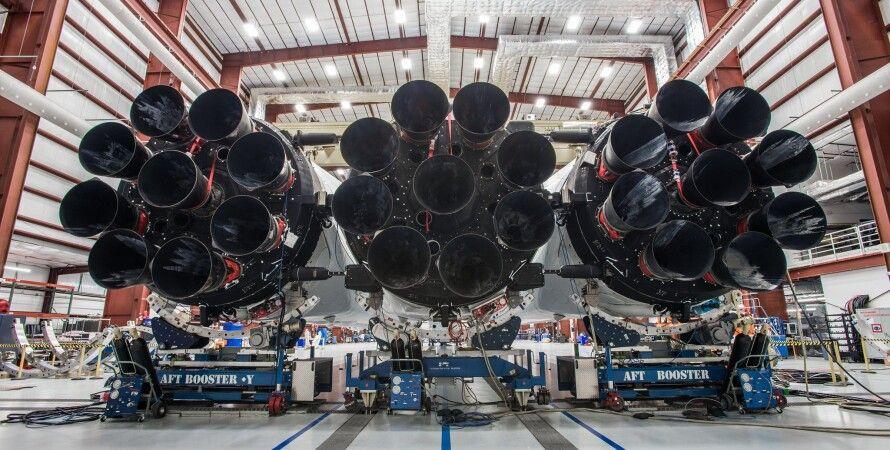 Falcon Heavy / Фото: twitter.com/elonmusk