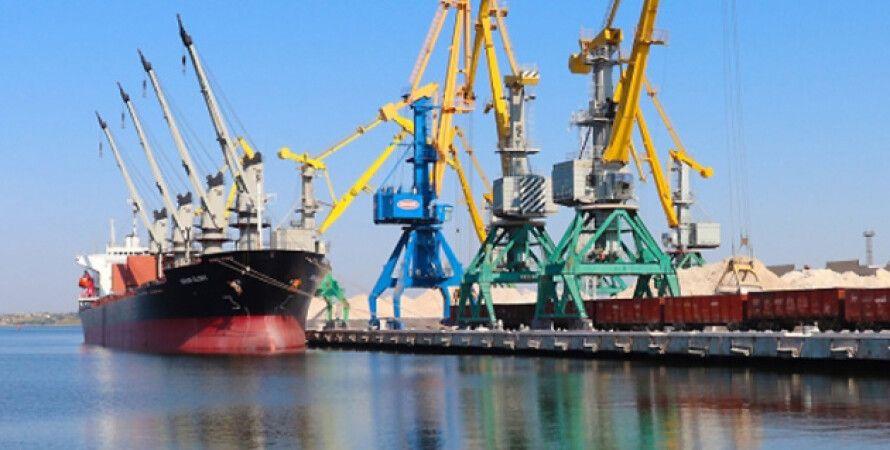 Морской порт, порт