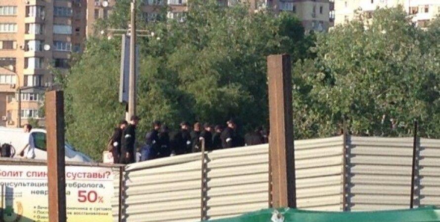 Незаконная застройка на Осокорках / Фото: Громадське ТБ