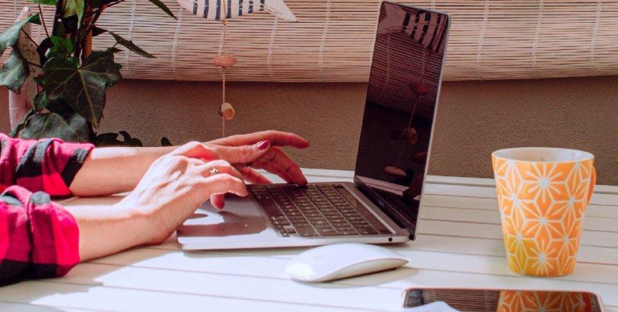 ноутбук, текст, документ, файл