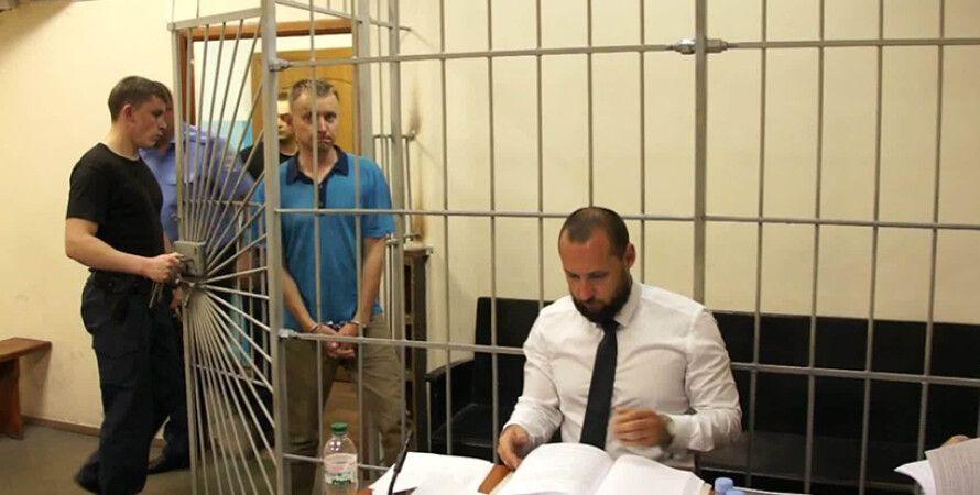 Александр Кацуба в суде / Фото: gp.gov.ua