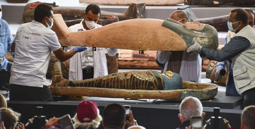 саркофаг, мумия, археология, Египет