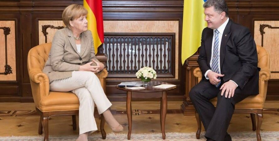 Ангела Меркель и Петр Порошенко / Фото: пресс-служба президента