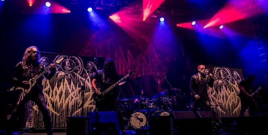Шведская дэт-метал группа Bloodbath. Janek Fronczak Photography