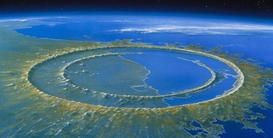 Чиксулуб, астероид, кратер, Земля, массовое вымирание