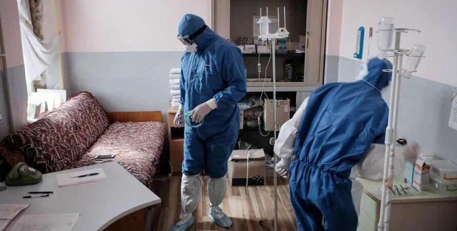 коронавірус в Україні, лікарі, Covid-19