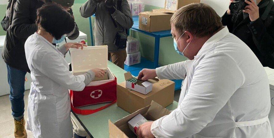 коронавірус, вакцини, лікарі, перевезення