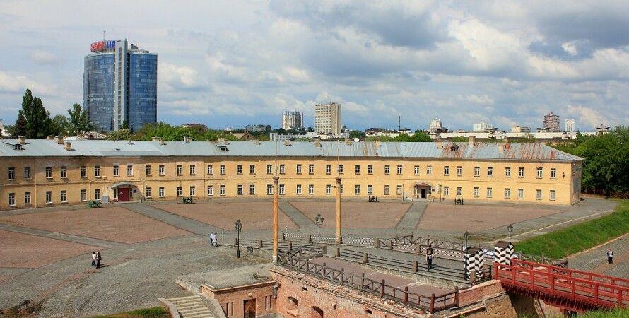 киевская крепость, аварийный ремонт, восстановление киевской башни 4, Крепость на печерске