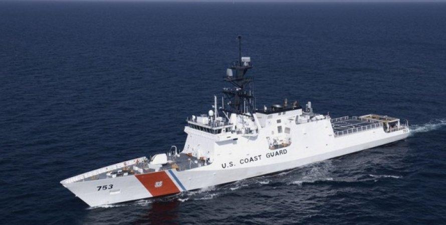 Hamilton, Корабель, Катер, США, Чорне море, НАТО, Roosevelt