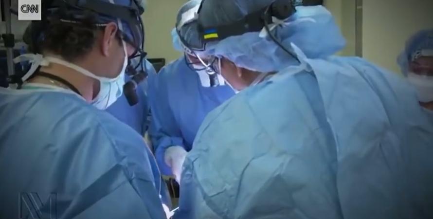 операція, трансплантація, лікарі, операційна