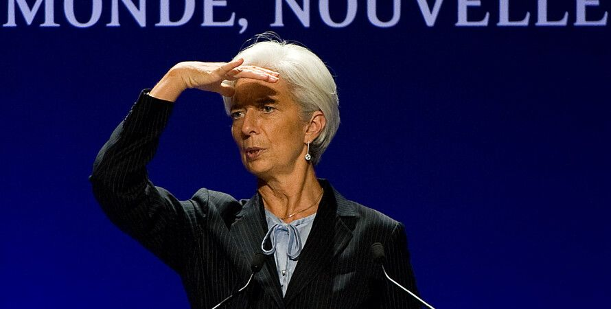 Директор-распорядитель МВФ Кристин Лагард / Фото: Getty Images