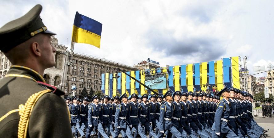 военный парад, военный парад ВСУ на Майдане, парад ВСУ День Независимости