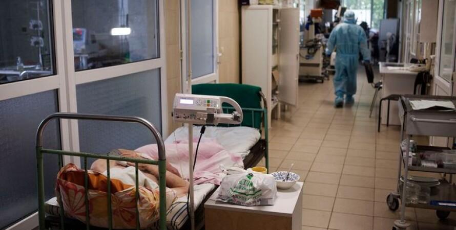 больница, коридор, больные