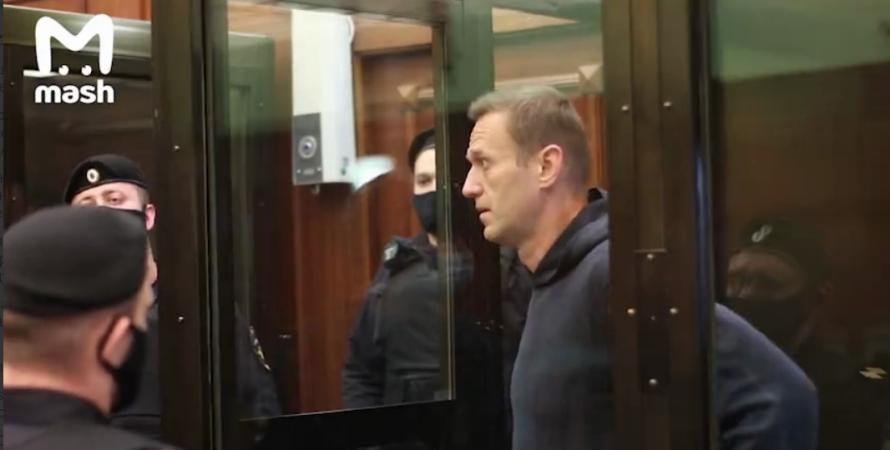 навальний, суд