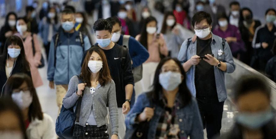 Ухань, маски, люди в масках, китай, китайцы в масках, ситуация в ухане