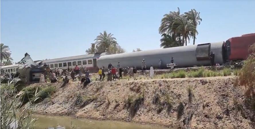 крах, поїзди, Єгипет, жертви, загиблі, фото