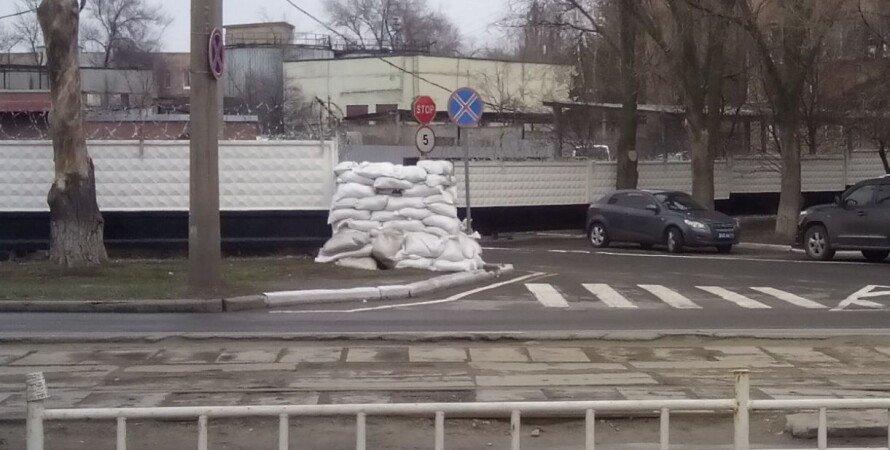 Донецк, ДНР, Мешки, Песок, Боевые действия