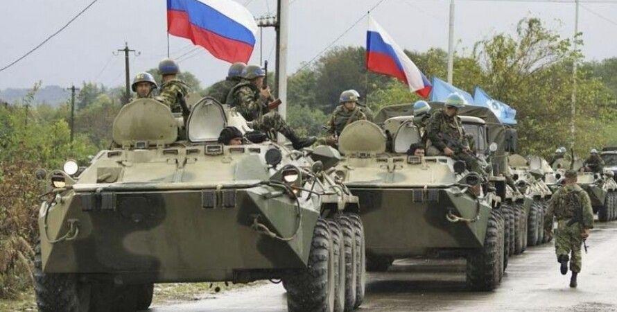 Российские войска в Донбассе / Фото: reporter-tv.net