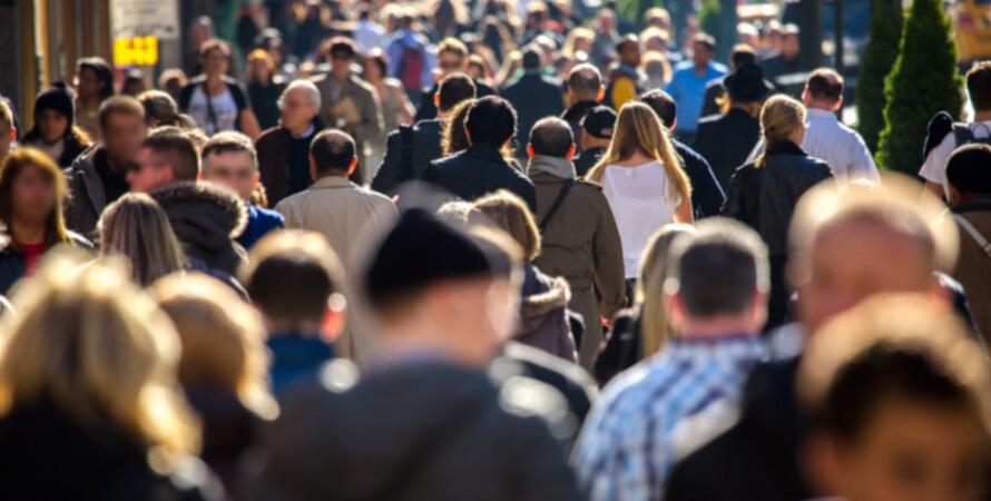 Натовп, люди, населення, українці
