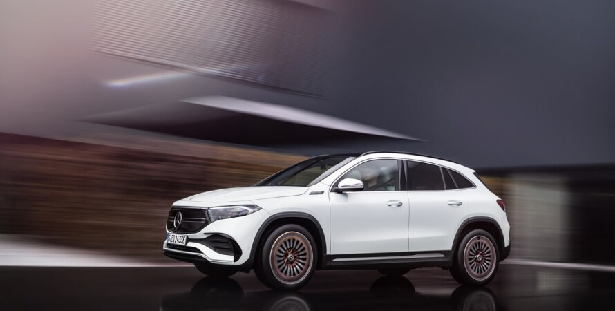 Mercedes-Benz, електрокар, хетчбек