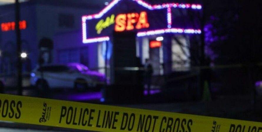 сша, стрельба, спа, полиция, массажный салон, убийство
