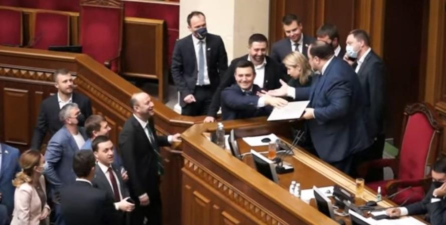 Николай Тищенко, нардеп, Рада, курьез,