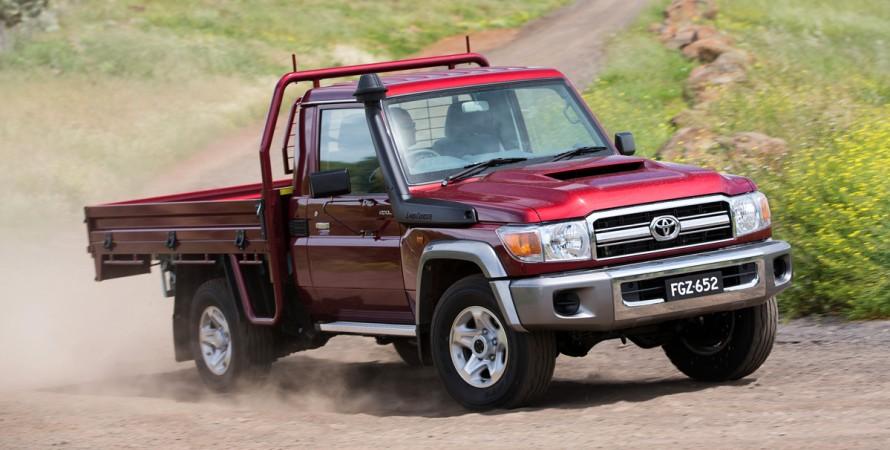 Toyota Land Cruiser 70 обновление Австралия