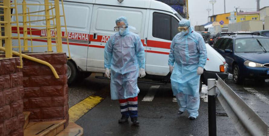 лікарі, швидка допомога, коронавірус