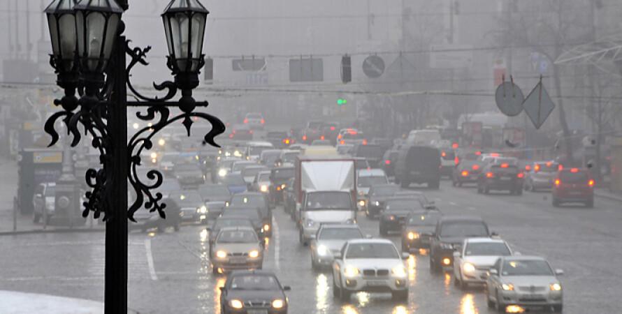 погода в украине, дождь