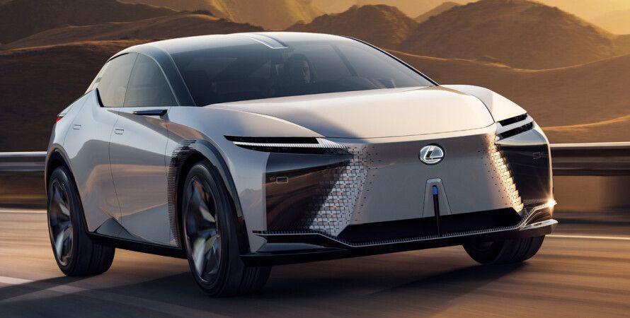 Lexus, LF-Z Electrified, концепт Lexus LF-Z Electrified