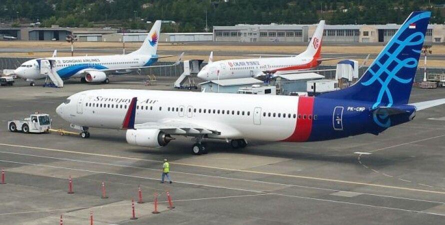 Индонезия, Джакарта, пассажирский самолет, самолет, авиакатастрофа