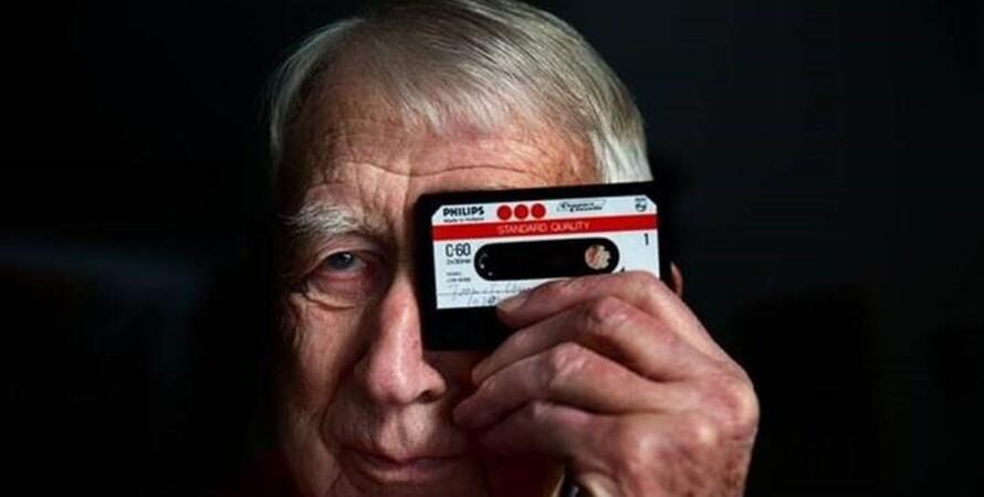 Голландия, Лу Оттенс, инженер, изобретатель, аудиокассета, умер,
