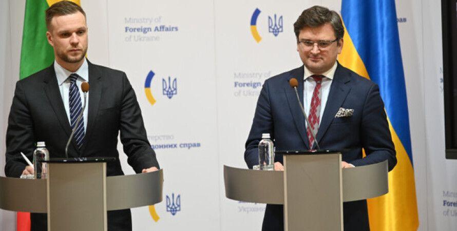 Габриэлюс Ландсбергис, Литва, Евросоюз, Вакцина, Дмитрий Кулеба