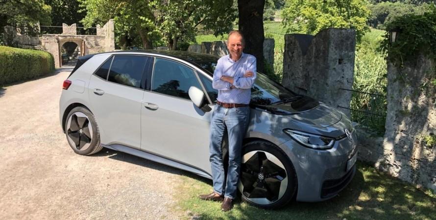 Volkswagen Group Герберт Дісс зарядні станції