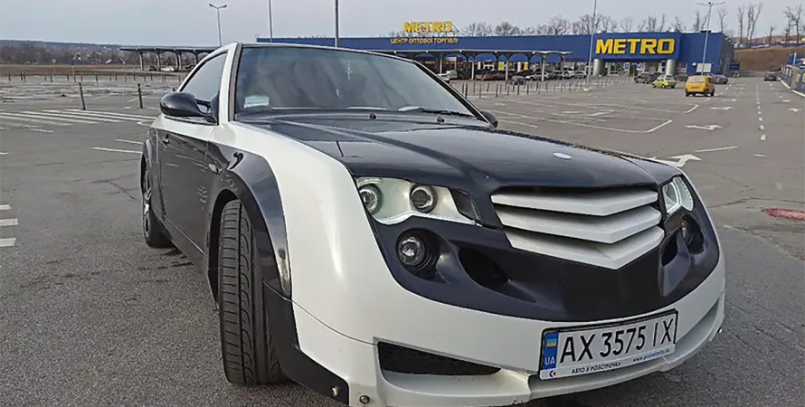 Тюнинговый Mercedes