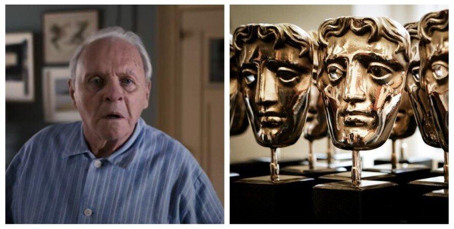 Энтони Хопкинс, BAFTA, коллаж