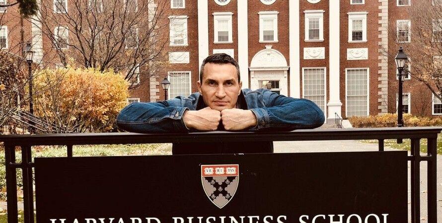 Владимир Кличко, боксер, Гарвард, бизнес-школа, обучение, курс,