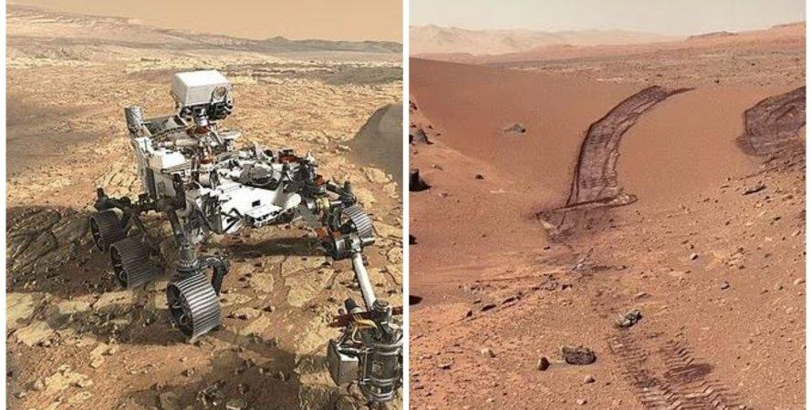 Марс, місія на Марсі, вивчення Марса, марсохід Perseverance, NASA