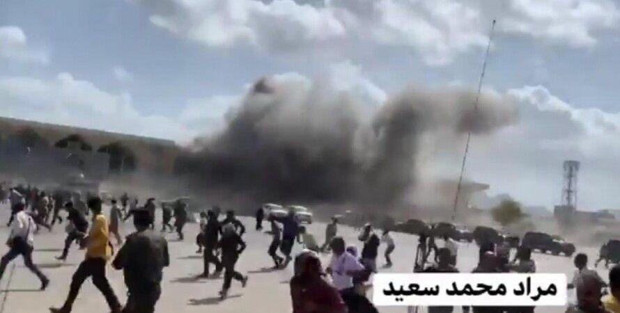 Йемен, взрыв, террористы, правительство, аэропорт