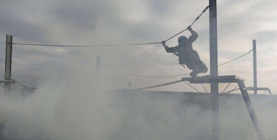 морпех, дым, всу, украина, солдат, подготовка