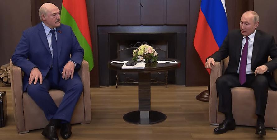 Александр Лукашенко, Владимир Путин, президент Беларуси, президент РФ, Сочи