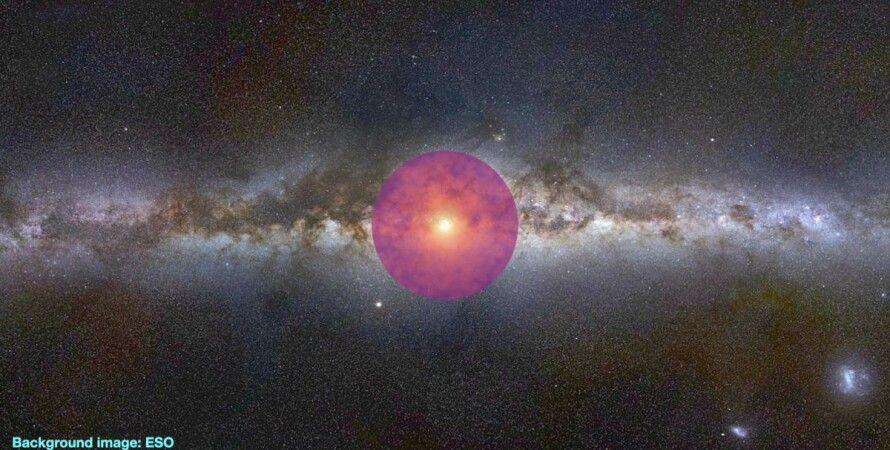 Млечный путь, космос, свечение, звезды, фото