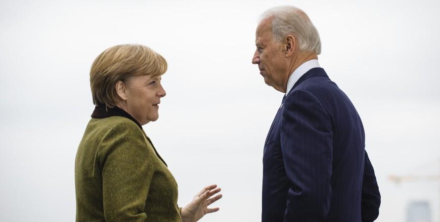 Зустріч Ангели Меркель і Джо Байдена — фото