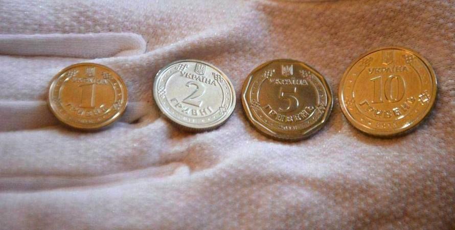 НБУ, монеты, дизайн,